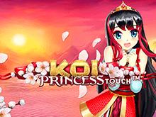 Играть онлайн в игровой автомат Принцесса Кои