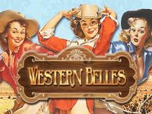 Игровой автомат Бесплатные азартные игры Western Belles с красотками Дикого Запада
