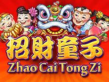 Игровой автомат Игровые автоматы Zhao Cai Tong Zi: окажитесь в Китае бесплатно