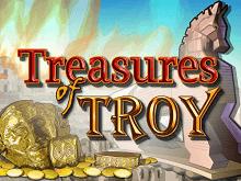 Игровой автомат с бонусами Treasures Of Troy
